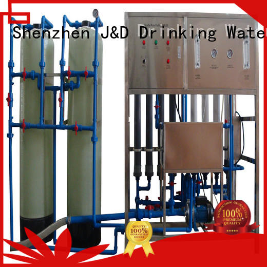 machinery mineral water making machine filter wastewater treatment plants J&D WATER