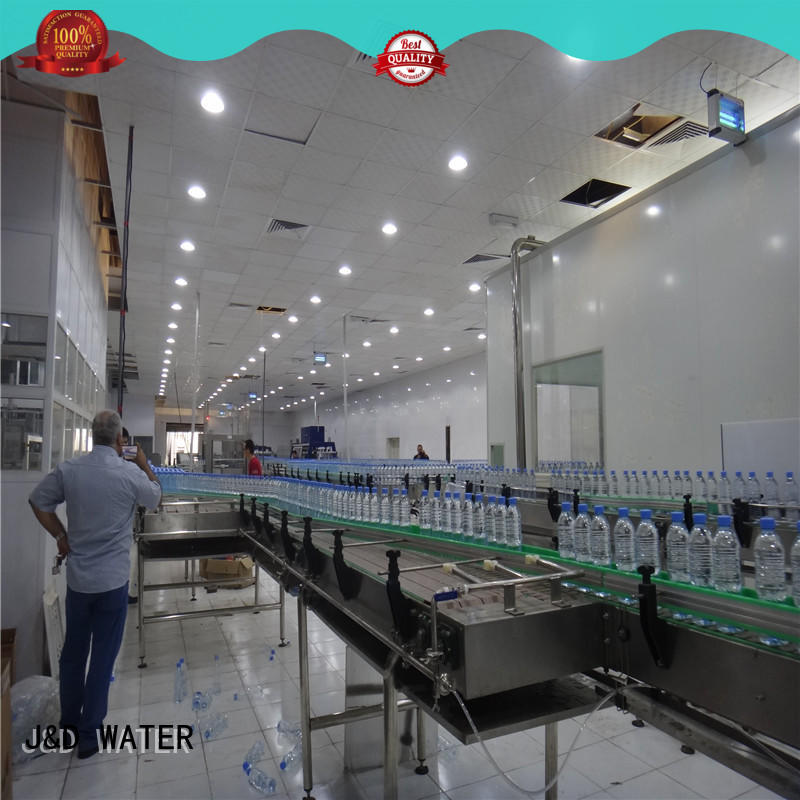 quick slat conveyor stability for drinking water
