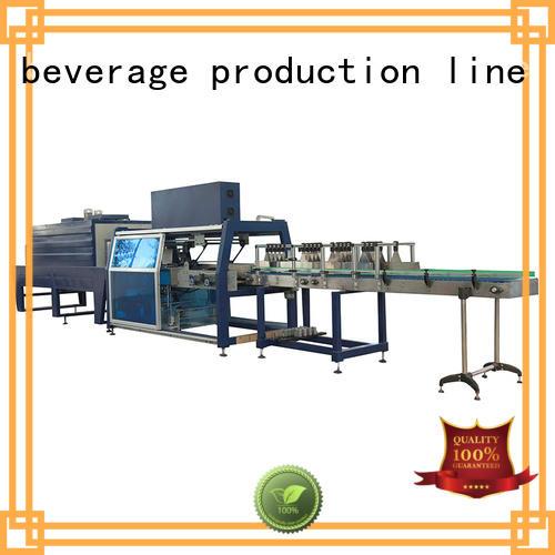 convenient bottle pack machine precise control for beverage
