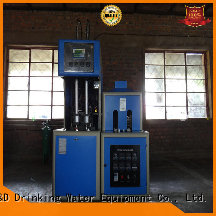 J&D WATER Customized stretch blow moulding machine effortlessly for hot fill containers