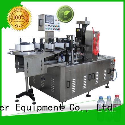 bottle beer can labeling machine intellectual control for film lables J&D WATER
