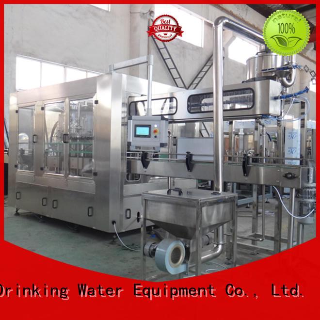 J&D WATER water beverage filling machine engineering Glass bottles