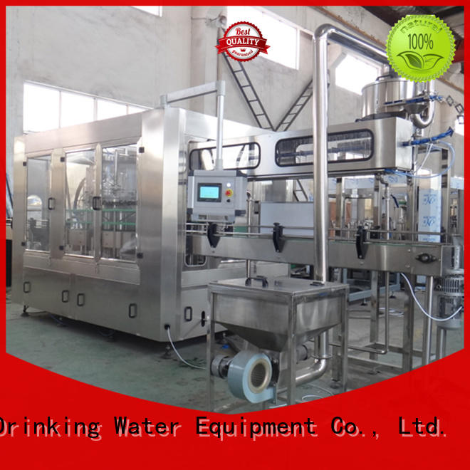 J&D WATER water beverage filling machine engineering Glass bottles