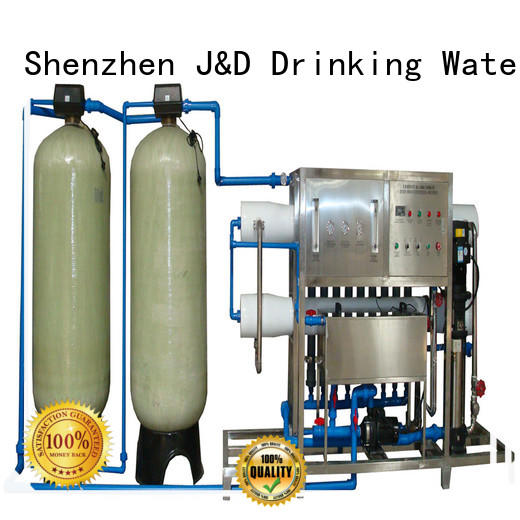 J&D WATER Brand reverse water ro water machine osmosis supplier