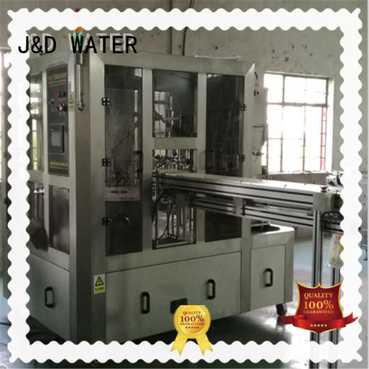 J&D WATER larger capacity bag filling machine factory for mineral water