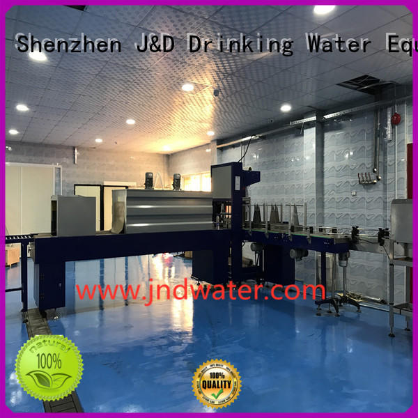 shrink wrap machines for sale wrap automatic shrink J&D WATER Brand company