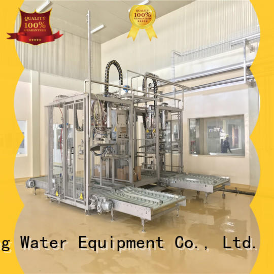 head plastic bag sealing machine high accuracy for beverage J&D WATER