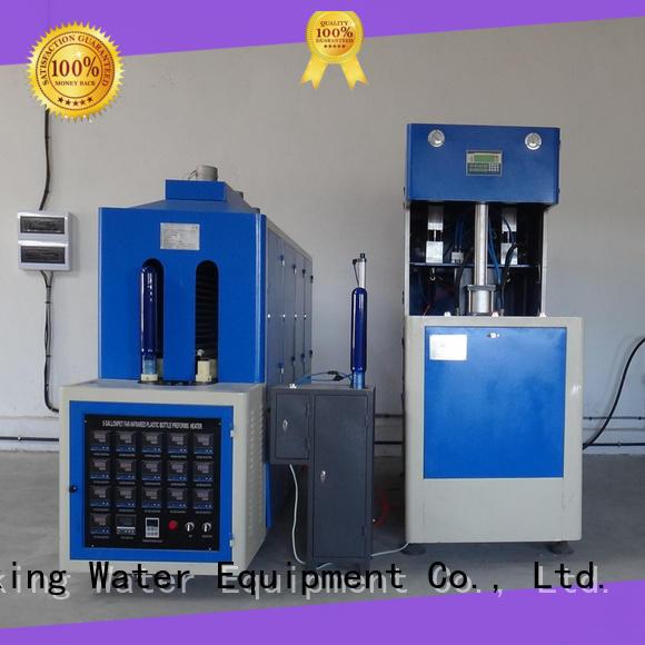 J&D WATER semi-automatic plastic bottle blowing machine 456 Blowing Machine