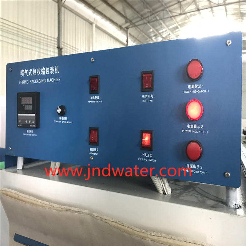 JD WATER-Wrapping Machine For Bottle Jnd-250b Semi-auto Shrink Wrap Packaging Machine