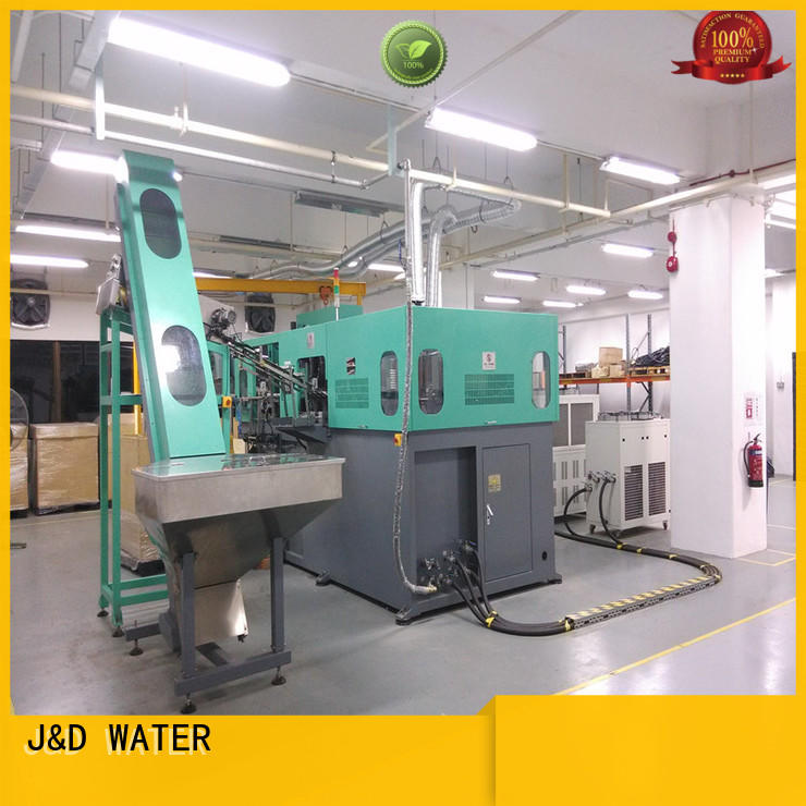 Customized pet blowing machine safely for PET plastic