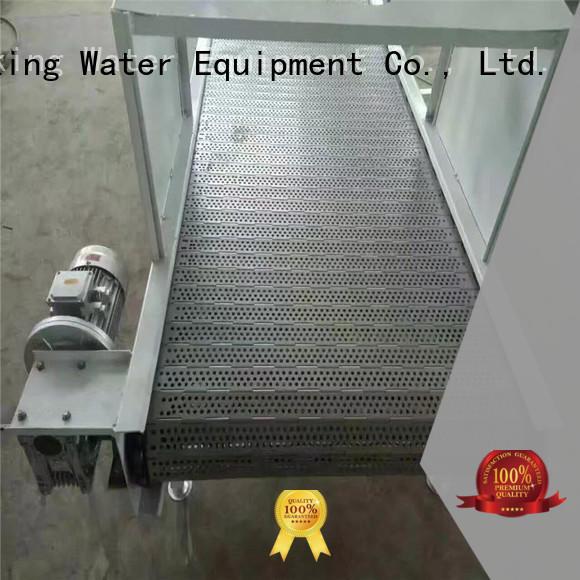 chain conveyor belt belt conveyor stainless Warranty J&D WATER