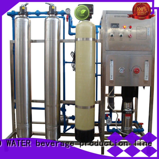 J&D WATER easy operation reverse osmosis equipment manual wash for industrial waste treatment