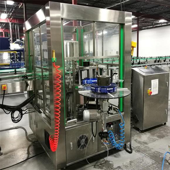 J&D WATER anti-rust semi automatic bottle labeling machine standard label papers