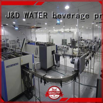 J&D WATER high quality bottle conveyor high efficiency for beverage,