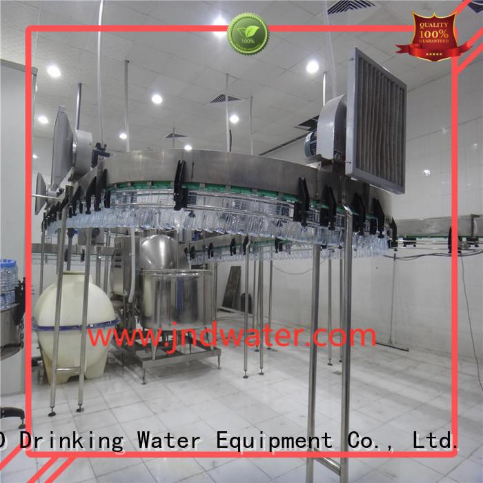 воздушно-воздушные конвейерные системы бутылки J & D WATER компании