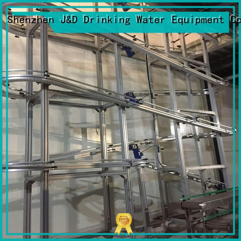J&D WATER chain conveyor high efficiency for beverage,