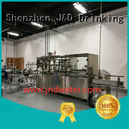 filling machine bottle filling equipment J&D WATER Brand