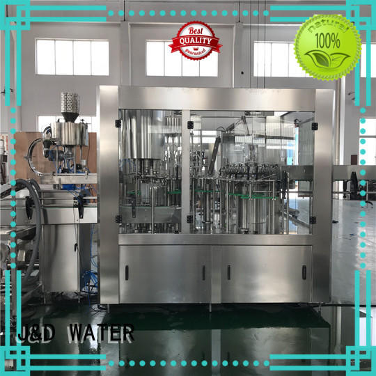 J&D WATER advanced technology bottle capping machine convenient for pure water