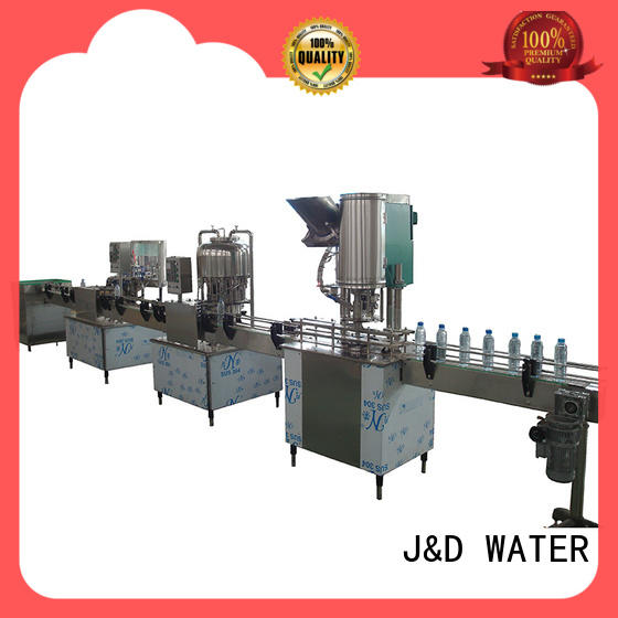 larger capacity water bottle packing machine engineering for PET