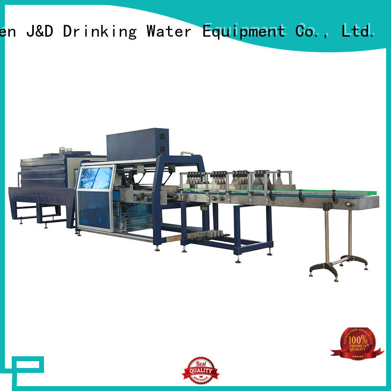 wrapping film package machine stable performance for beverage J&D WATER