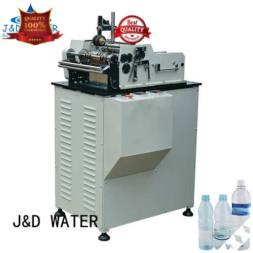 J&D WATER water bottle labeling machine intellectual control for film lables