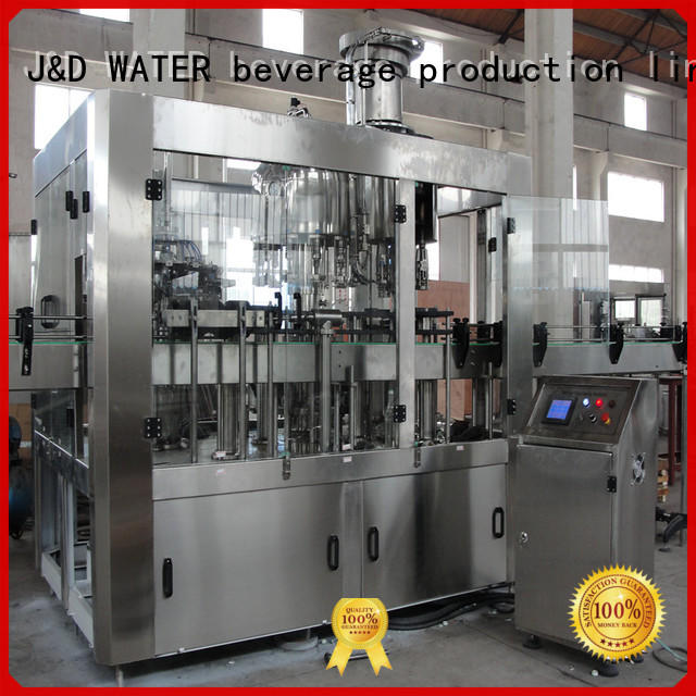 advanced technology water packing machine high accuracy for Glass bottles