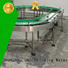 J&D WATER high quality powered roller conveyor stainless steel drinking