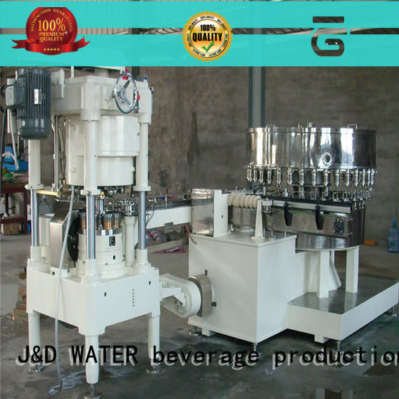 J&D WATER advanced technology canning machine factory for mineral water