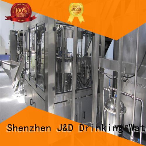 J&D WATER adjusted water bottling machine machine for vinegar