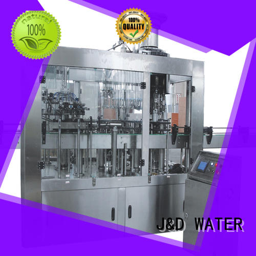 J&D WATER adjusted auto packing machine factory for juice