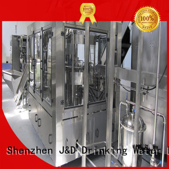 J&D WATER intelligent bottle capping machine series for tea
