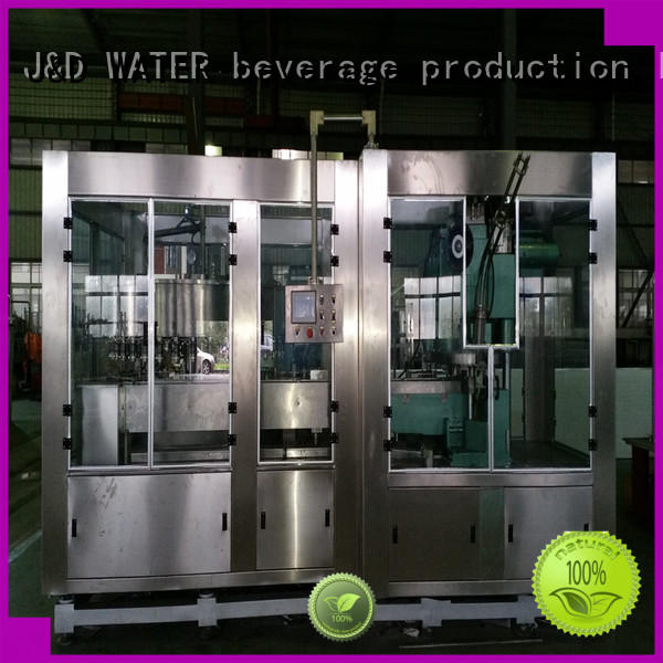 J&D WATER intelligent canning machine convenient for hot infusion