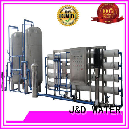 J&D WATER ro machine with Glass Tank for drinking water for treatment