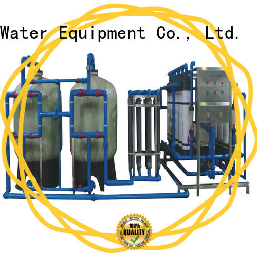 high quality water purifier machine for plant softener water