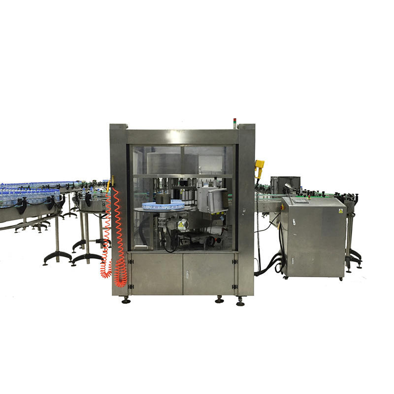 water bottle filling and labeling machine melt for glass bottle J&D WATER-1