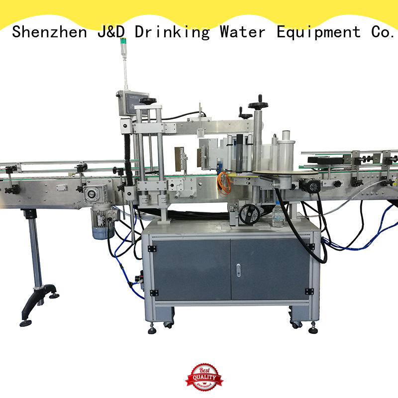 waterproof self adhesive labeling machine adjustable for metal container