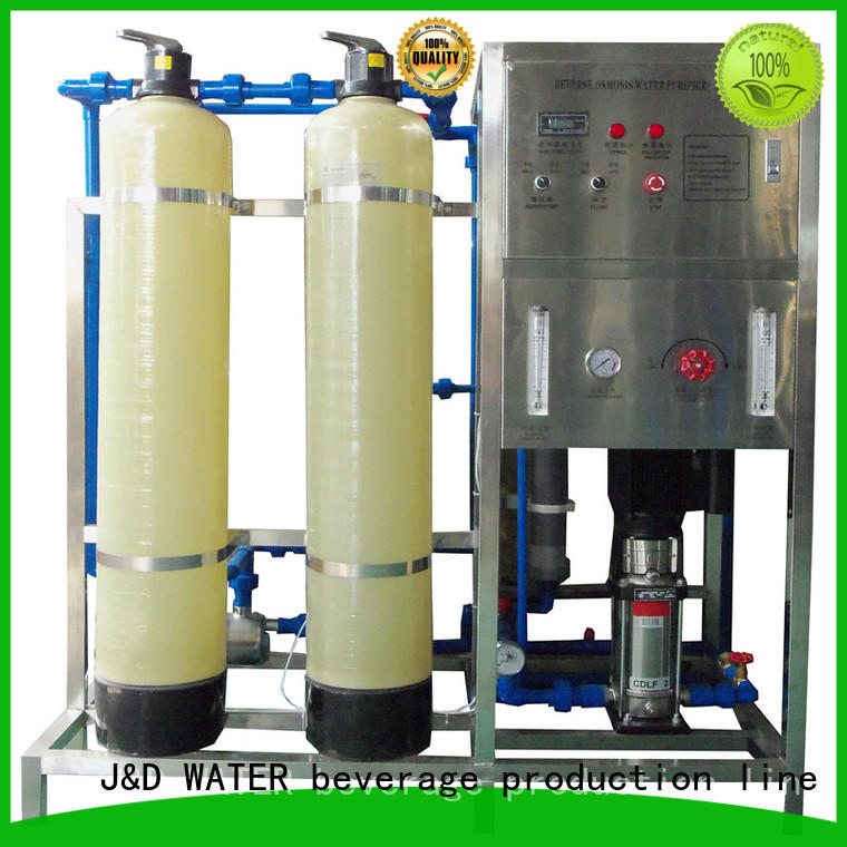 J&D WATER reverse osmosis water treatment machine auto wash for industrial waste treatment