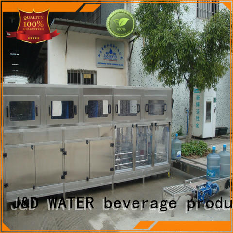 J&D WATER adjusted aseptic bag filling machine high automation for mineral water