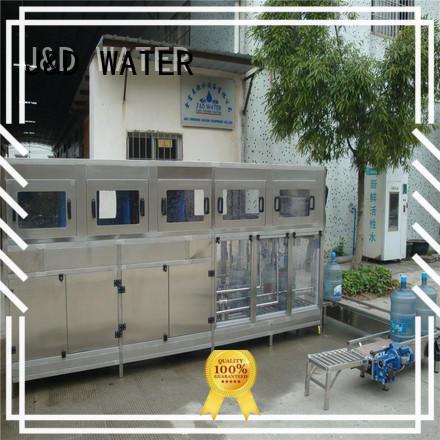 J&D WATER bottling equipment good quality for PET