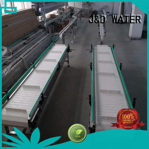 J&D WATER slat conveyor stability for daily chemical