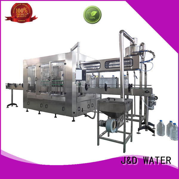 J&D WATER bottle filling equipment complete function for vinegar