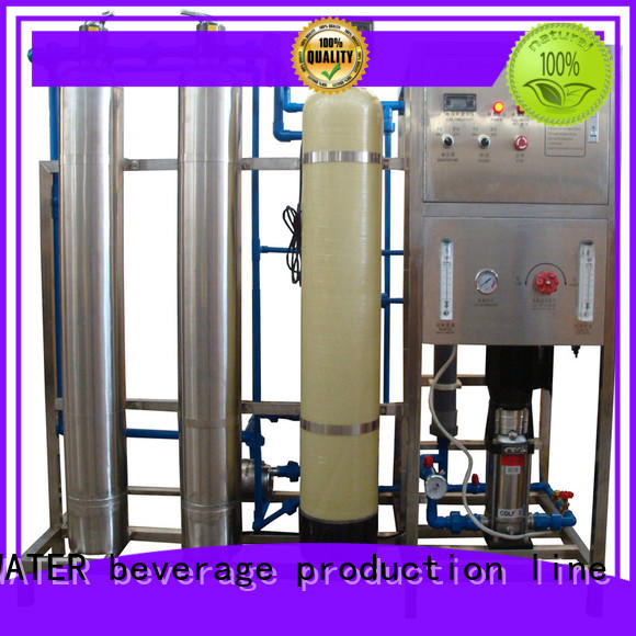 easy operation reverse osmosis machine With Steel for drinking water for treatment
