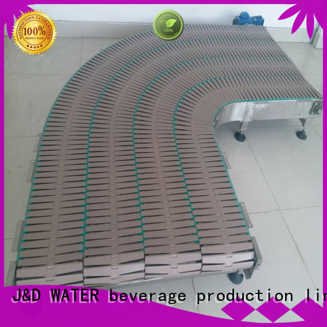 J&D WATER high quality slat conveyor stability for daily chemical