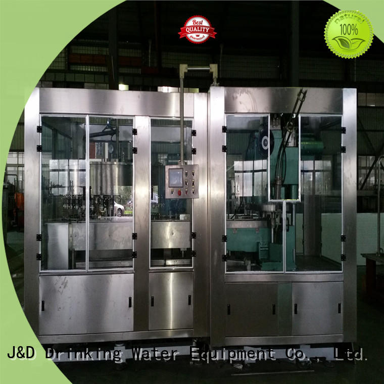 J&D WATER adjusted canning machine complete function for container