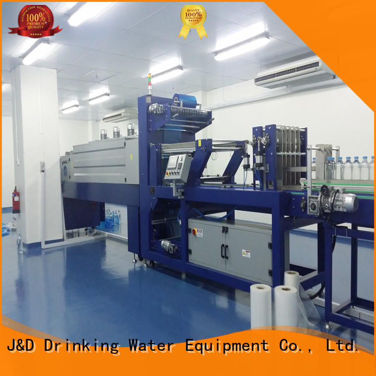 J&D WATER pouch film package machine easy to operate for beverage