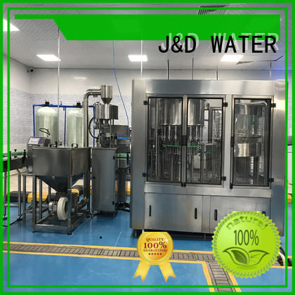 J&D WATER mineral water filling machine high automation for milk