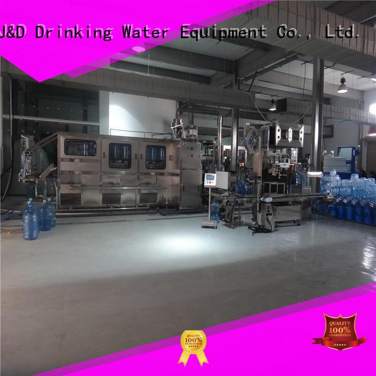 bottle wine bottling machine jnd100 for pure water J&D WATER