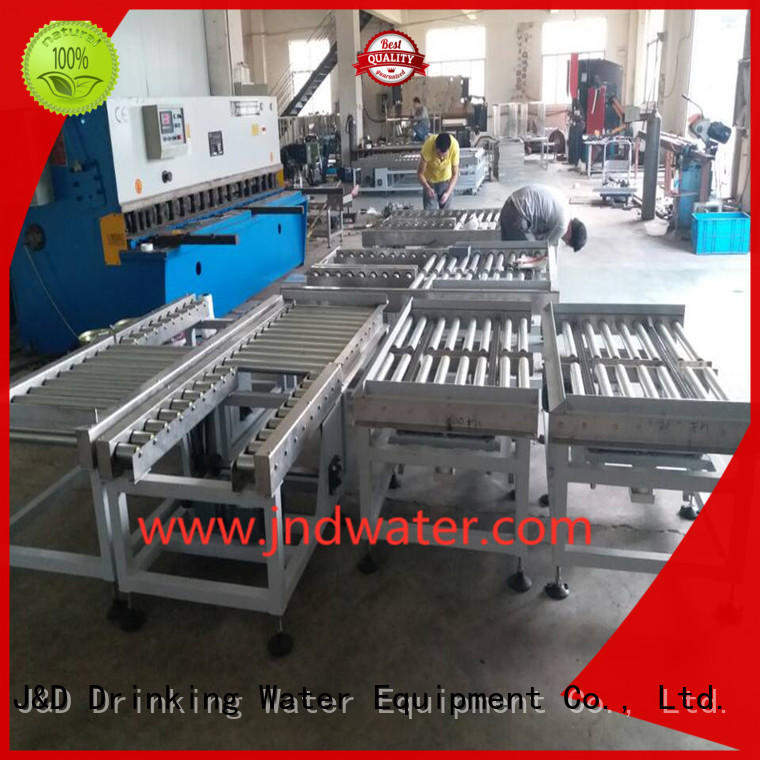 Wholesale roller gravity roller conveyor J&D WATER Brand