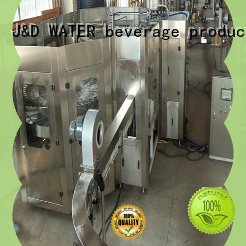 J&D WATER liquid packing machine factory for mineral water