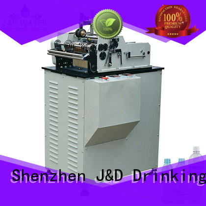 waterproof water bottle labeling machine convenient for metal container